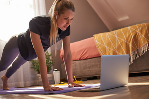 online trening hjemme