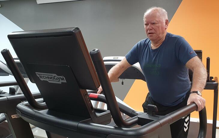 Bjørnulf trener kondisjon